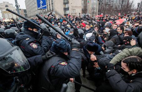 Как прошли протесты 31 января 2021 г.